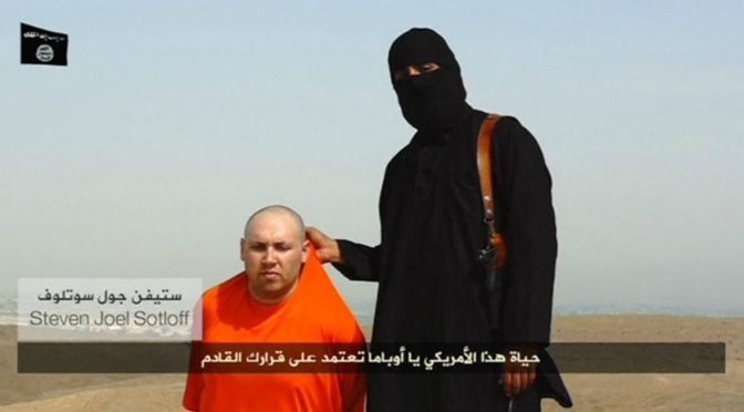 Journalist Steven Sotloff Has Been Beheaded By ISIS